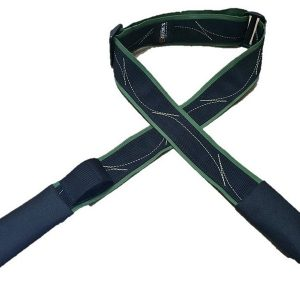 """רצועת אמל""""חייה לנשק שחור- ירוק"""