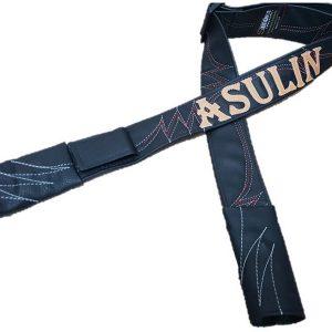 רצועת דמוי עור- לבן אדום דגם ASULIN