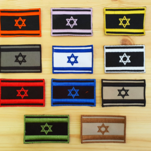 פאץ' דגל ישראל סקוץ'