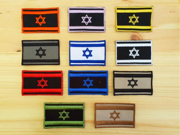 פאץ' דגל ישראל סקוץ' 1