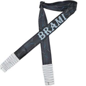רצועת דמוי עור- לבן תכלת דגם BRAMI
