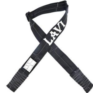 רצועת דמוי עור- שחור לבן דגם LAVI