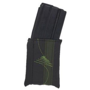 כיסוי מחסנית- שחור בד ירוק