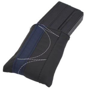 כיסוי מחסנית- שחור בד כחול כהה