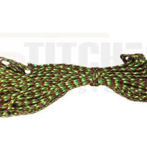 מיתר צניחה ירוק צהוב אדום – 5 מטר