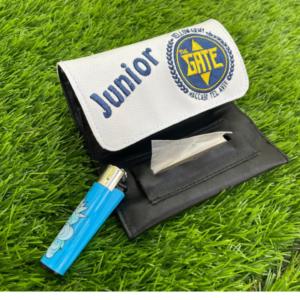 קייס לטבק עם סמל קבוצת כדורגל