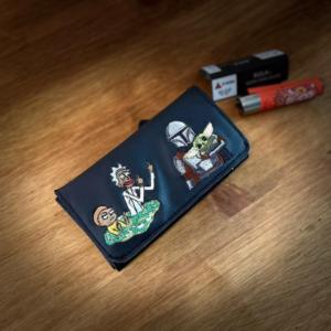 קייס לטבק עם תמונה ברקמה